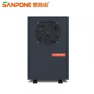 圣普诺(SANPONE) 商用顶吹常温工程套餐 空气能热泵 水循环热水器 工厂/学校/酒店/太空能 空气能主机(3匹超低温主机) 工程专用(包配送安装)